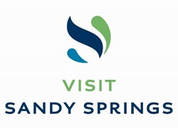 Visit Sandy Springs logo
